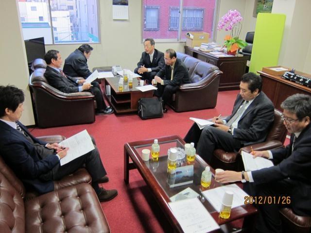2011年度 第4回会長団執行部会議