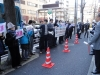 北韓ミサイル発射に対する糾弾抗議活動