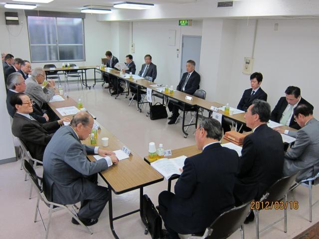 2011年度第2回役員合同理事会議