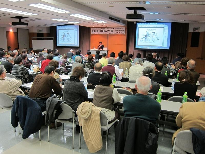 綜合教育院「コリアンカルチャーサロン2012」2